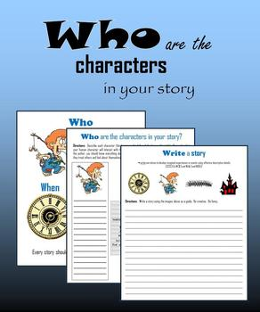 Who are the characters in your story?