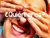 Game: Who are you? Spanish guessing game