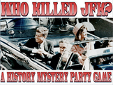 Project based learning: Who Assassinated JFK: PBL & mystery activity