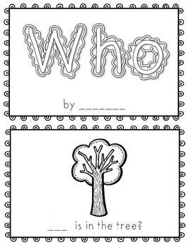 Who~ emergent reader