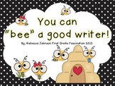 Who has a writer's eye? Bee Writing Posters