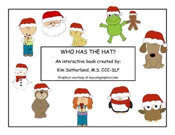 Who has the Hat Interactive Book Large Version