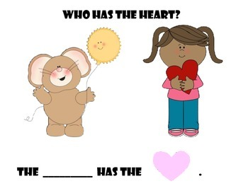 Who has the Heart interactive book