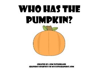 Who has the Pumpkin Interactive Book