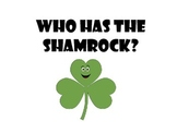 Who has the Shamrock? Interactive Book