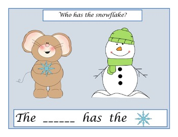 Who has the Snowflake Interactive Book