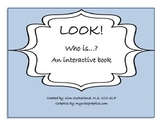 Who is...? An interactive book