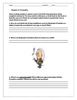 Who is Benjamin Franklin Reading Guide