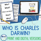 Who is Charles Darwin? Evolution Gallery Walk Notes Activity
