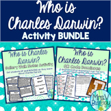 Who is Charles Darwin? History of Evolution Activity BUNDLE