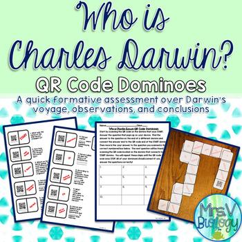 Who is Charles Darwin? QR Code Dominoes