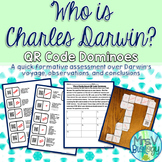 Who is Charles Darwin? QR Code Domino Activity