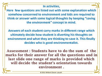 """Who Is """"Environmentalist""""? A Game On Environment Awareness"""