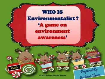 "Who Is ""Environmentalist""? A Game On Environment Awareness"