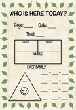 Who is Here Today? - Morning Math Routine