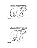 Who is Hibernating Writing Sentences