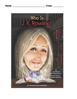 Who is JK Rowling? Workbook