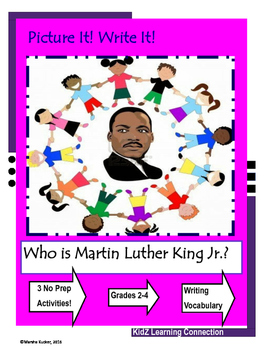 Word Work:  Who is Martin Luther King Jr.?