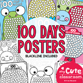 100 Days of School Countdown Posters