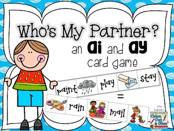 Who is My Partner? - an AI and AY Card Game