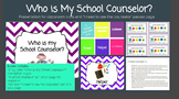 Who is My School Counselor? Classroom Visits Introduction Bundle