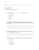 Who is Neil Armstrong Quiz for Chapters 7-10