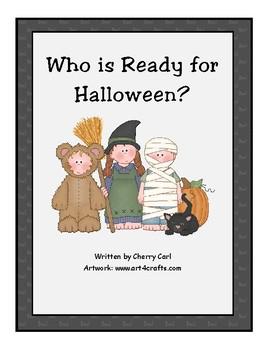 Who is Ready for Halloween? Wonders Kindergarten (Unit 7)