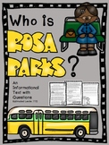 Who is Rosa Parks? An Informational Passage with Comprehen