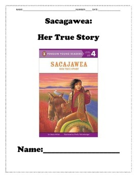 Who Was Sacagawea Reading Guide Two-Pack Stories!