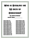 Who is Stealing the 12 Days of Christmas (Book Club with q