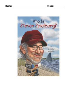 Who is Steven Spielberg? Workbook Level 1