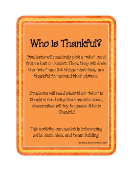 Who is Thankful?