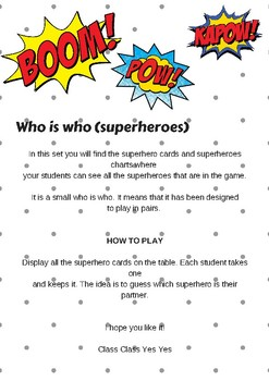 Who is Who (Superhero Theme)
