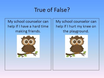 Who is Your School Counselor?