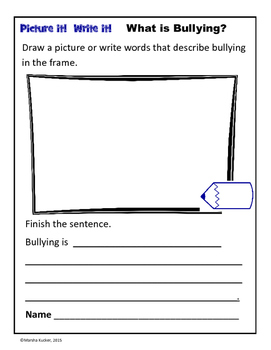 Word Work: What is Bullying?
