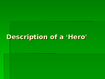 Who is a Hero