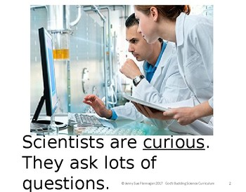 Who is a Scientist Book