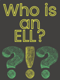 Who is an ELL? Posters ** 75 Posters of Prominent ELL Leaders **