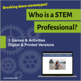 Who is an Engineer or Scientist? STEM Career Game & Activity