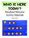Who is here today? Activity for Preschool Special Education