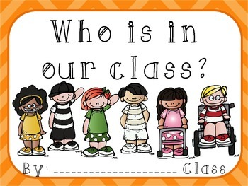 Who is in our class? Classroom book