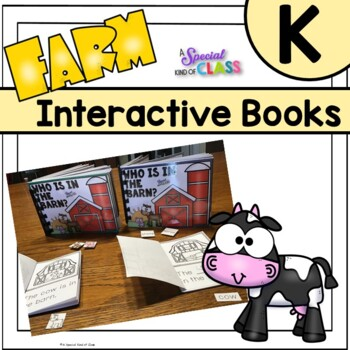 Who is in the Barn? Easy reader and interactive farm books
