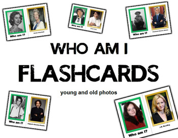 Who is it? Famous Individual Flashcards
