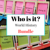 Who is it? World History Bundle