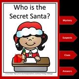 Christmas Mystery Unit: Who is the Secret Santa?