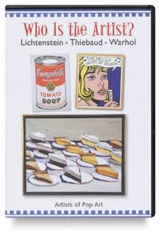 Who is the artist? worksheet Lichtenstein, Thiebaud, and Warhol