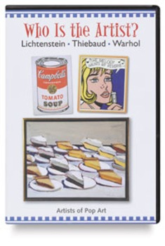 Who is the artist? worksheet Lichtenstein, Thiebaud, and Warhol