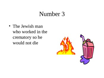 Night: Who is to blame for the events of the Holocaust?