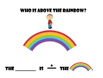 Who is under/above the Rainbow? An interactive book