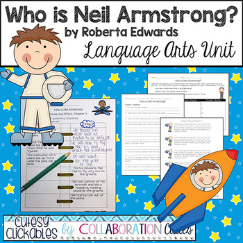 Who is / was Neil Armstrong? Nonfiction Biography Literature Unit {Common Core}